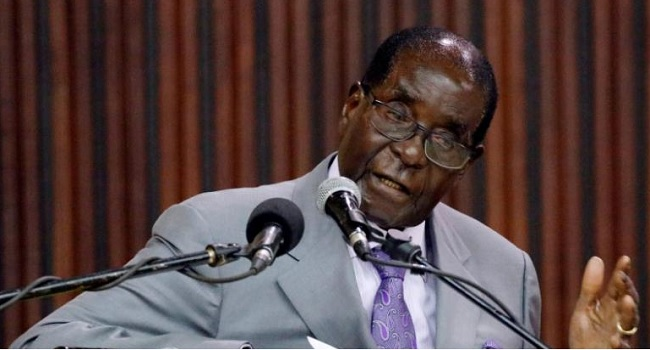 U.S.  citizen held in Zimbabwe for insulting Mugabe
