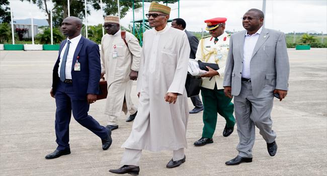 #PMBinSE: President Buhari arrives Enugu for 2-Day South East Tour