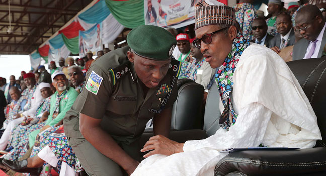 Buhari in Anambra, campaigns for APC
