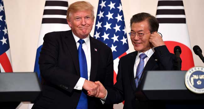 Gov't: N. Korea's Reaction to Trump's Asia Tour Relatively Moderate