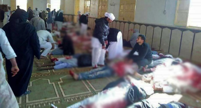 At least 75 wounded in Egypt mosque attack: Ministry official