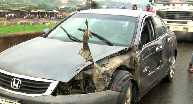 Five die in Lagos-Ibadan Expressway crash, 16 vehicles involved