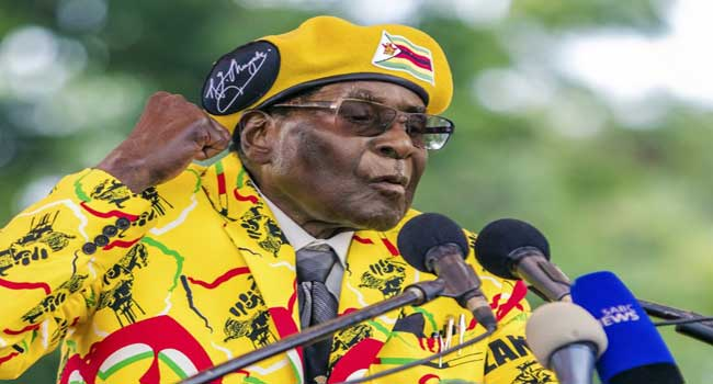 Mugabe ignores deadline to quit, ruling party calls meeting