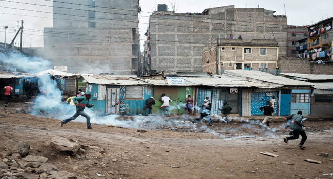 1 killed in Kenya police, opposition clashes