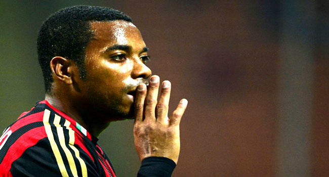 Robinho sentenced to nine years in prison for sexual assault