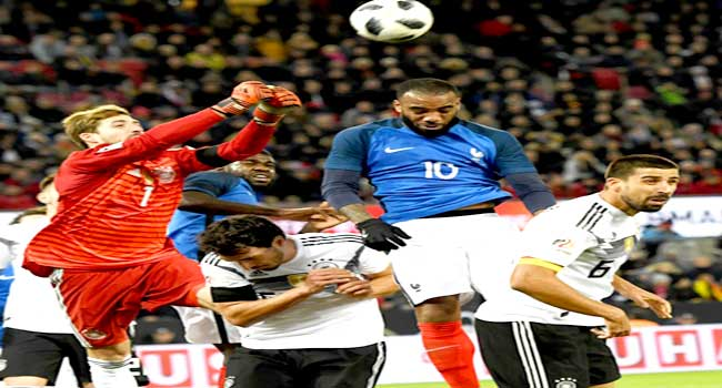 Germany Strike Late To Draw With France And Preserve Unbeaten Run