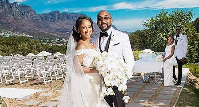 Banky W, Adesua Tie Knot In Destination Wedding